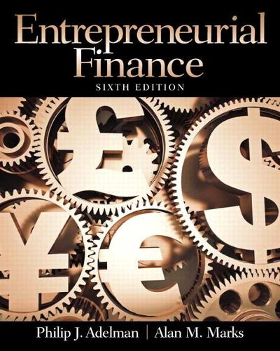 Entrepreneurial Finance: United States Edition (Paperback)