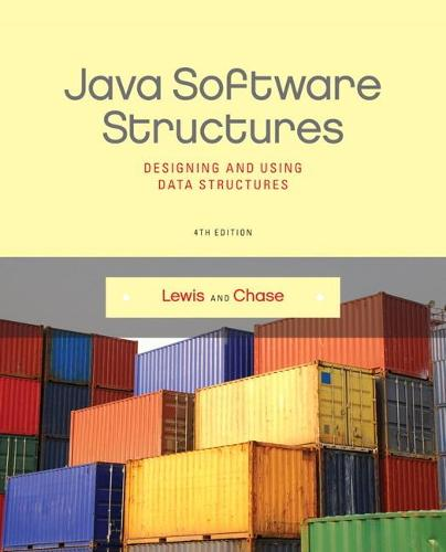 Java Software Structures: Designing and Using Data Structures (Paperback)