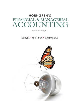 Horngren's Financial & Managerial Accounting (Hardback)