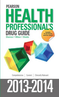 Pearson Health Professional's Drug Guide 2013-2014 (Hardback)