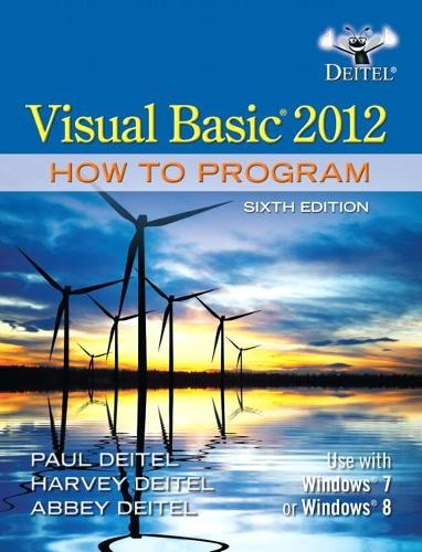 Visual Basic 2012 How to Program (Paperback)