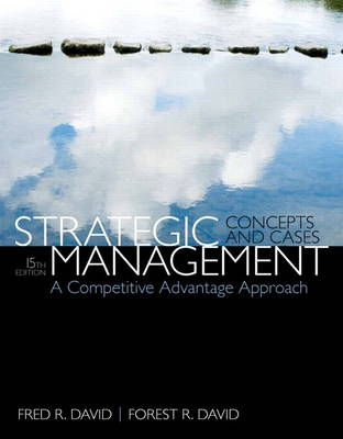 Strategic Management: A Competitive Advantage Approach, Concepts & Cases (Hardback)