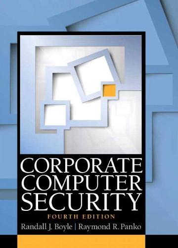Corporate Computer Security (Paperback)