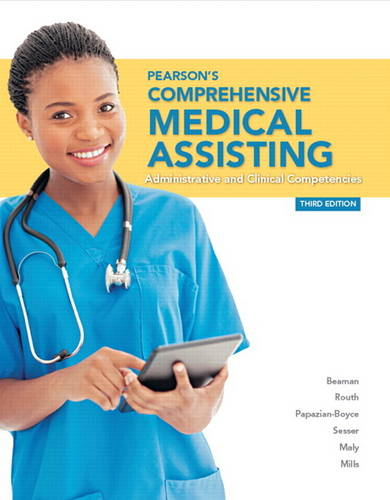 Pearson's Comprehensive Medical Assisting (Paperback)