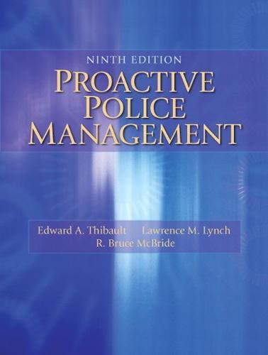 Proactive Police Management (Paperback)