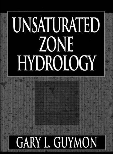 Unsaturated Zone Hydrology (Hardback)