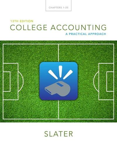 College Accounting: A Practical Approach (Hardback)