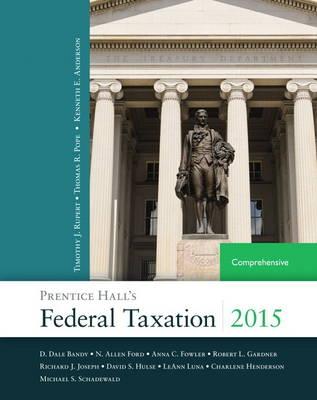 Prentice Hall's Federal Taxation 2015 Comprehensive (Hardback)