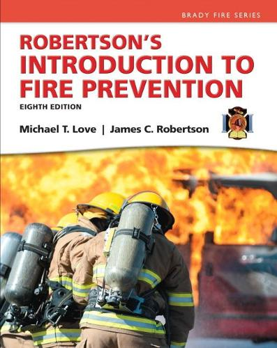 Robertson's Introduction to Fire Prevention (Hardback)