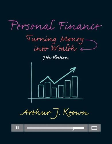 Personal Finance: Turning Money into Wealth (Hardback)