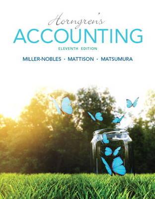 Horngren's Accounting (Hardback)