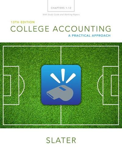 College Accounting Chapters 1-12 with Study Guide and Working Papers (Paperback)