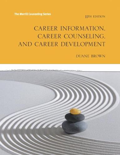 Career Information, Career Counseling and Career Development (Paperback)
