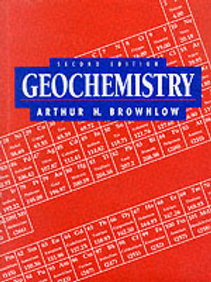 Geochemistry (Hardback)