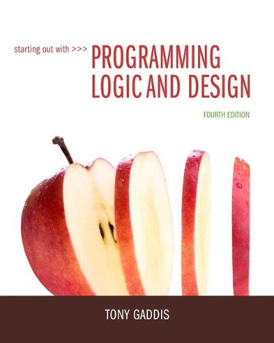 Starting Out with Programming Logic and Design (Paperback)