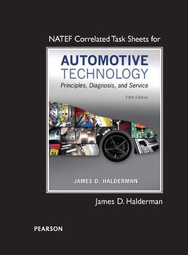 NATEF Correlated Task Sheets for Automotive Technology (Paperback)