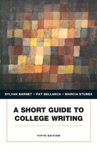 Short Guide to College Writing, A (Paperback)