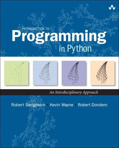 Introduction to Programming in Python: An Interdisciplinary Approach (Hardback)