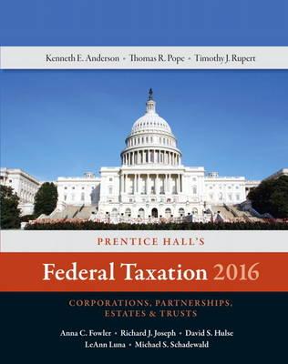 Prentice Hall's Federal Taxation 2016 Corporations, Partnerships, Estates & Trusts (Hardback)