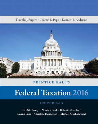 Prentice Hall's Federal Taxation 2016 Individuals (Hardback)