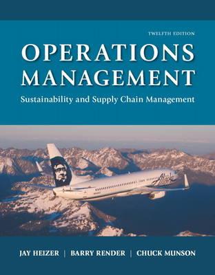 Operations Management: Sustainability and Supply Chain Management (Hardback)