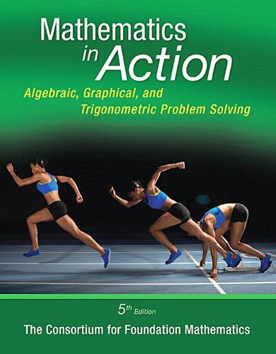 Mathematics in Action: Algebraic, Graphical, and Trigonometric Problem Solving Plus NEW MyMathLab -- Access Card Package
