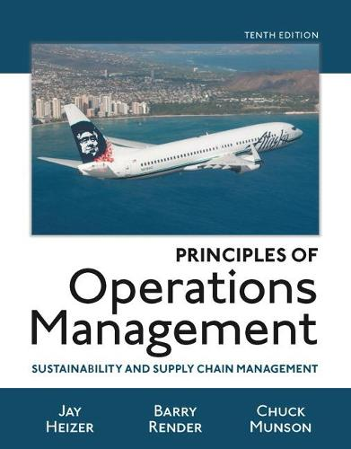Principles of Operations Management: Sustainability and Supply Chain Management (Paperback)