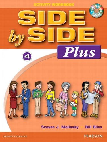 Side by Side Plus 4 Activity Workbook with CDs (Paperback)