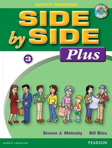 Side by Side Plus 3 Activity Workbook with CDs (Paperback)