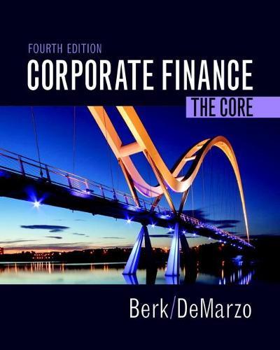 Corporate Finance: The Core (Hardback)