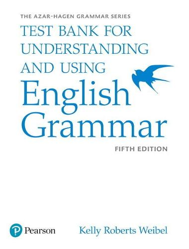 Understanding and Using English Grammar, Test Bank (Paperback)