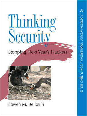 Thinking Security: Stopping Next Year's Hackers (Hardback)