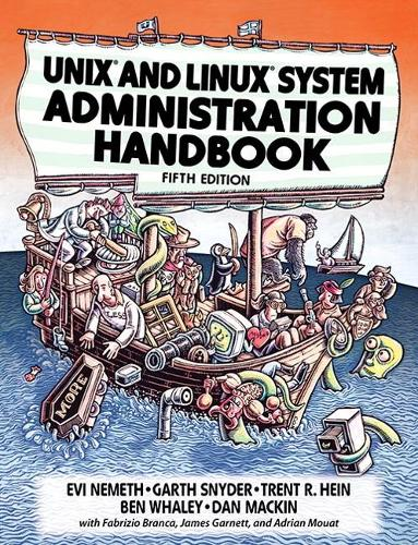 UNIX and Linux System Administration Handbook (Paperback)