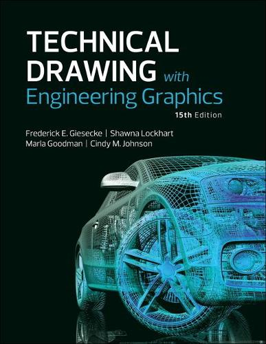 Technical Drawing with Engineering Graphics (Hardback)