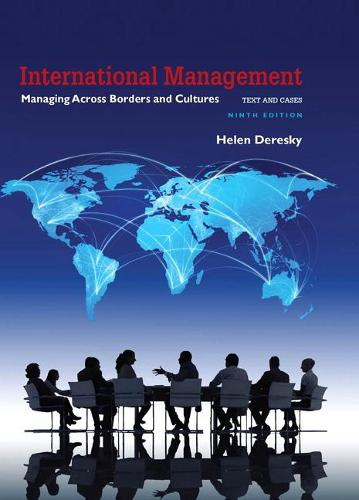 International Management: Managing Across Borders and Cultures, Text and Cases (Hardback)