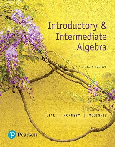Introductory & Intermediate Algebra (Hardback)