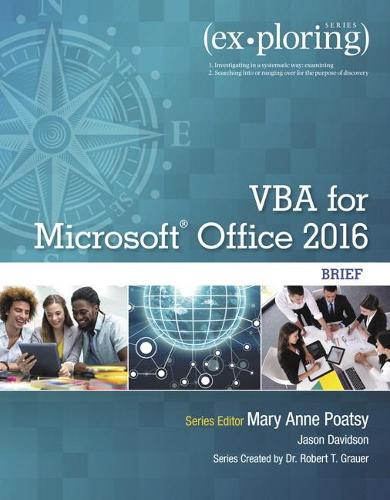 Exploring VBA for Microsoft Office 2016 Brief (Paperback)