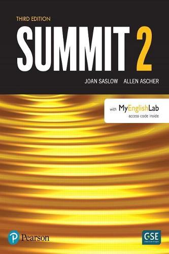 Summit Level 2 with MyEnglishLab: Summit Level 2 with MyLab English Level 2 (Paperback)