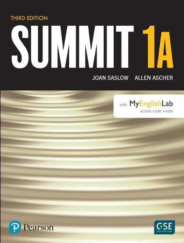 Summit Level 1 Student Book Split A w/ MyLab English (Paperback)
