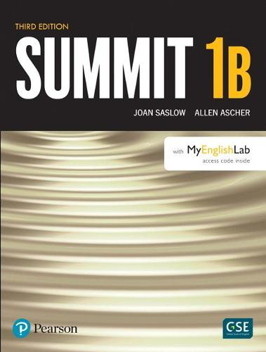 Summit Level 1 Student Book Split B w/ MyLab English (Paperback)