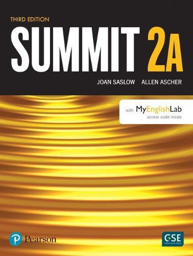 Summit Level 2 Student Book Split A w/ MyLab English (Paperback)