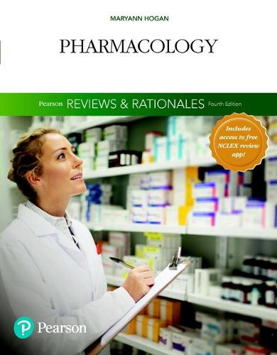 """Pearson Reviews & Rationales: Pharmacology with """"Nursing Reviews & Rationales"""" (Paperback)"""