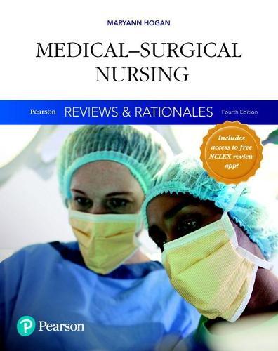 "Cover Pearson Reviews & Rationales: Medical-Surgical Nursing with ""Nursing Reviews & Rationales"""