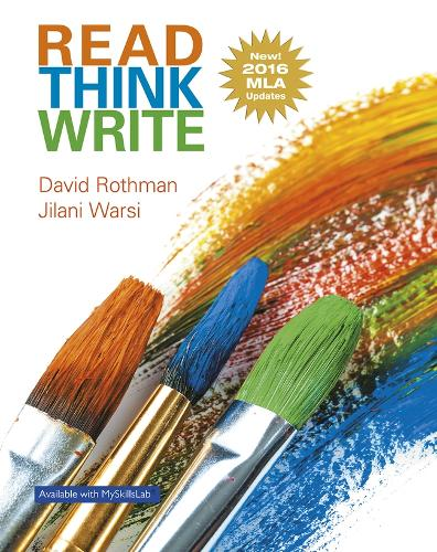Read Think Write: True Integration Through Academic Content, MLA Update (Paperback)