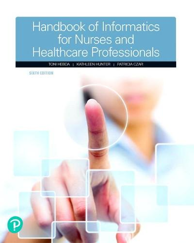 Cover Handbook of Informatics for Nurses & Healthcare Professionals