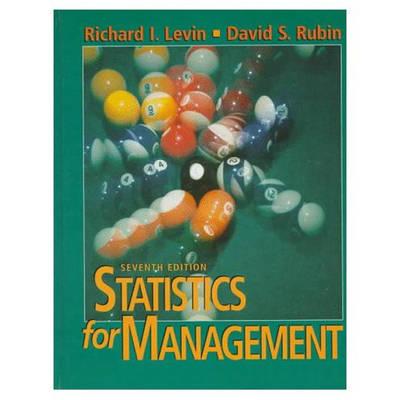 Statistics for Management (Hardback)