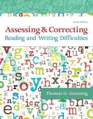 Assessing and Correcting Reading and Writing Difficulties (Paperback)