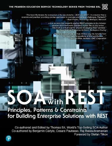 SOA with REST Principles, Patterns & Constraints for Building Enterprise Solutions with REST (paperback) (Paperback)