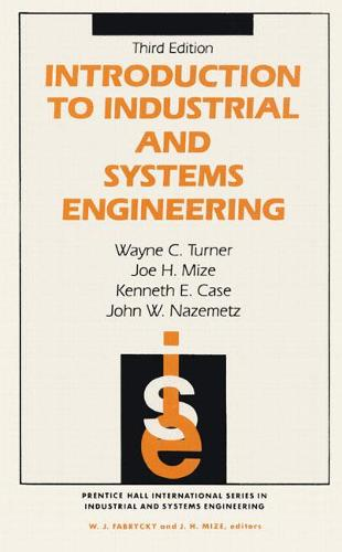 Introduction To Industrial And Systems Engineering (Hardback)