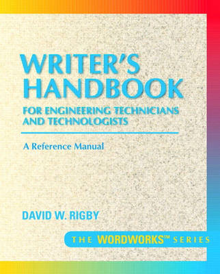 Writer's Handbook for Engineering Technicians and Technologists (Paperback)